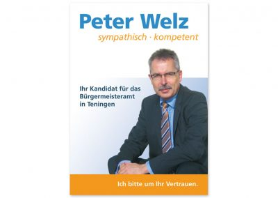 Peter Welz – Bürgermeisterkandidat für Teningen